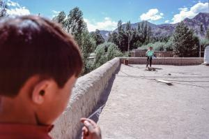 Enfants au cerf-volant