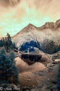 Lac Bleu du val d'Hérens